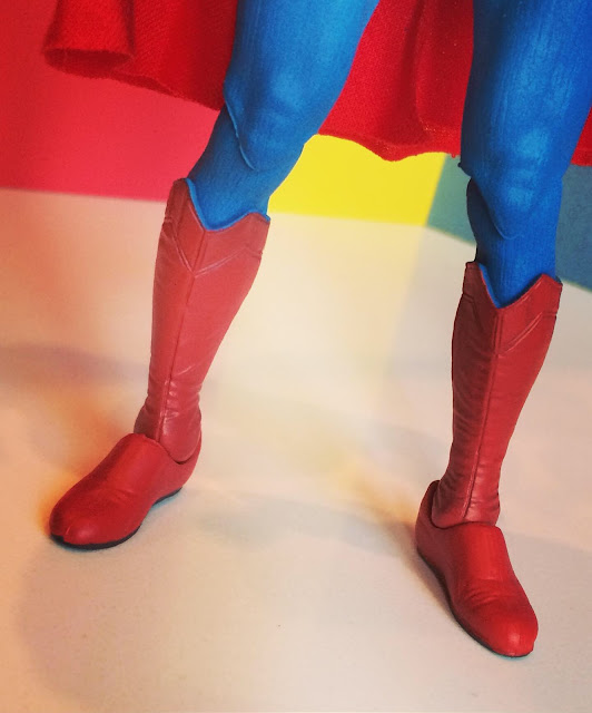 Christopher Reeve Superman figure boots