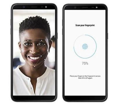 Spesifikasi Fingerprint dan Faceunlock Samsung Galaxy J8