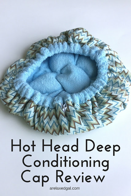 Product review: Hot Head Deep Conditioning Cap | arelaxedgal.com