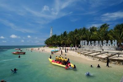 Tempat Wisata Pulau Beras Basah