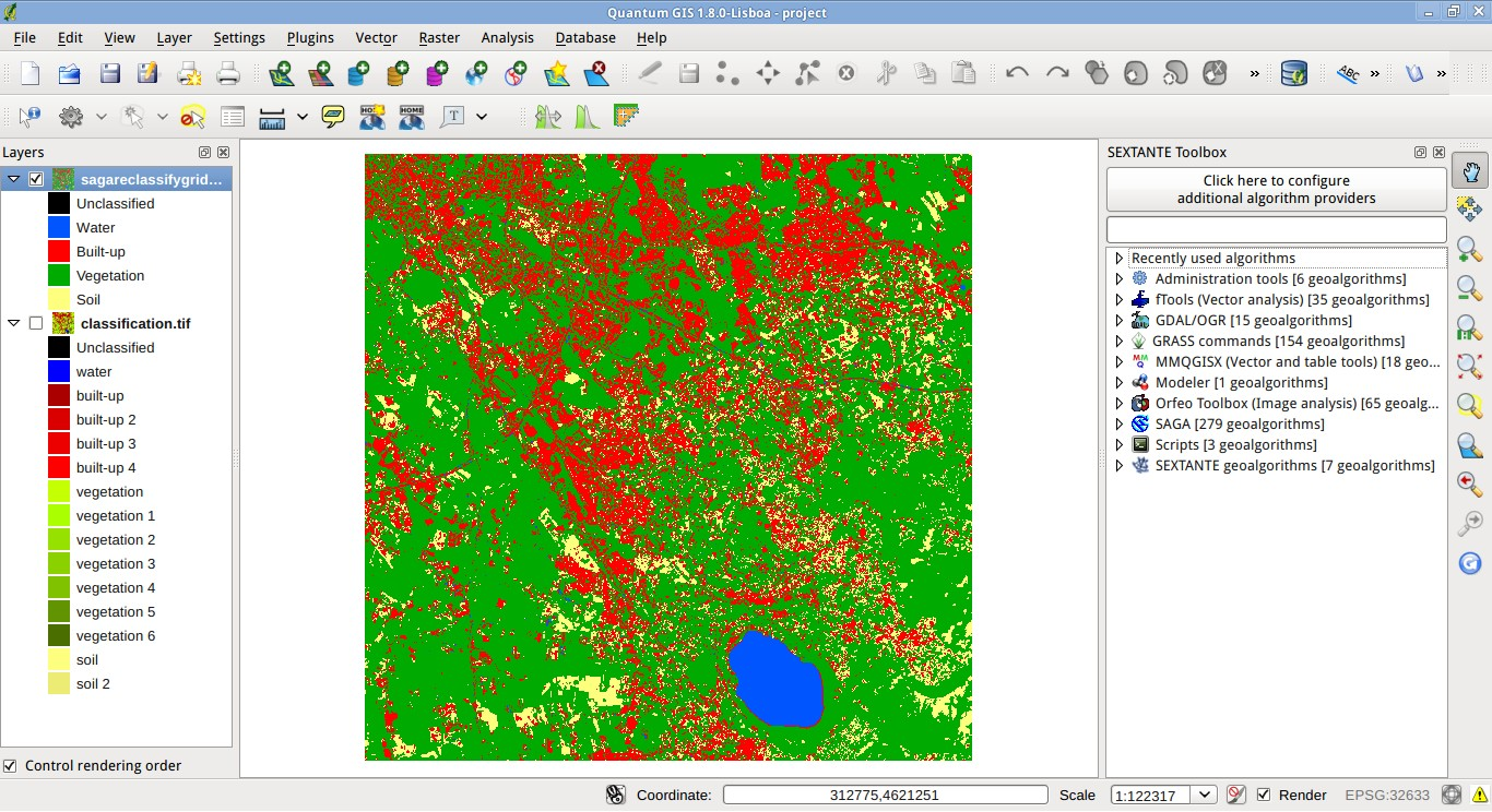 From GIS to Remote Sensing: Convert a Land Cover