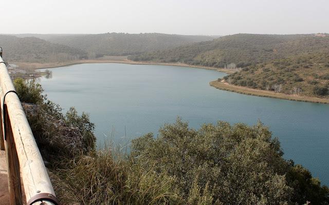 Qué ver en las Lagunas de Ruidera. Laguna del Rey desde el mirador del Cerro de las Canteras en Ruidera
