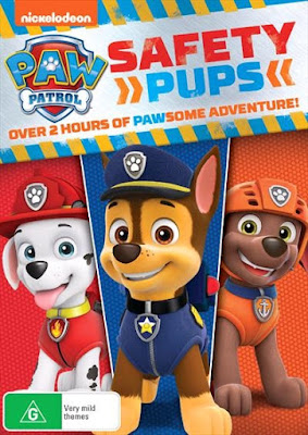 PAW Patrol Safety Pups 2018 DVD R1 NTSC Latino