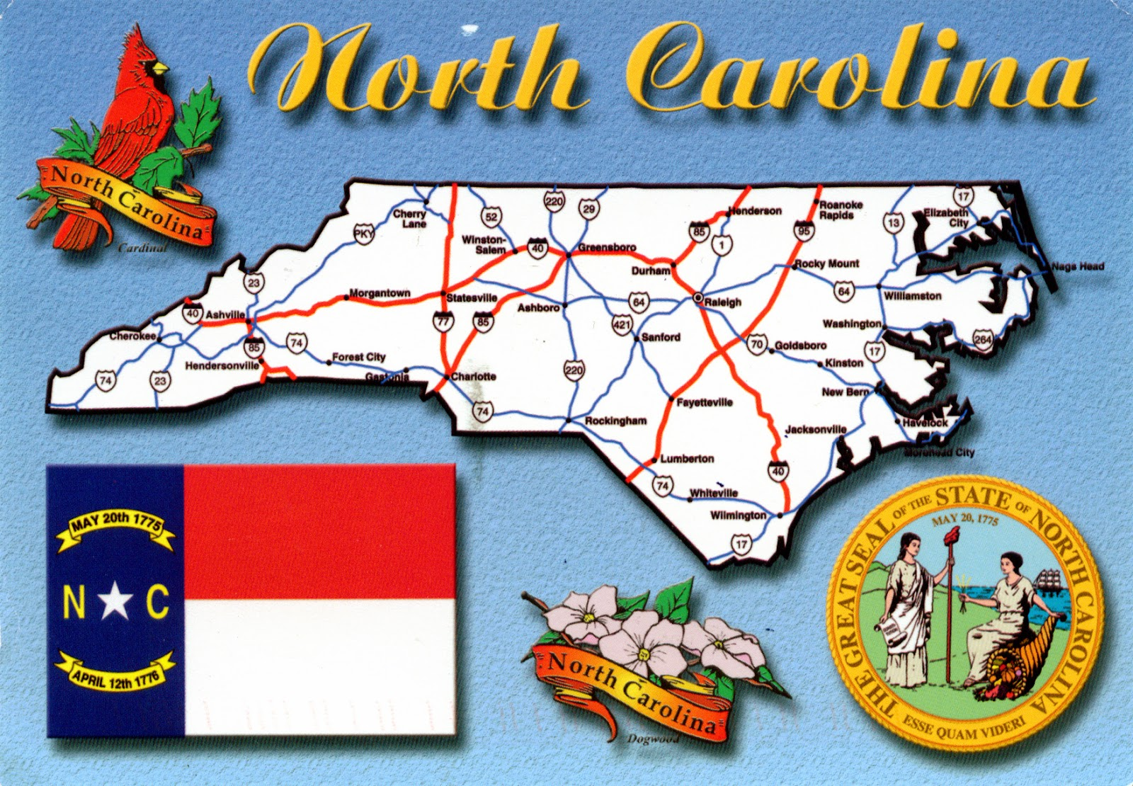 United States Map North Carolina.World Come To My Home 1247 United States North Carolina North