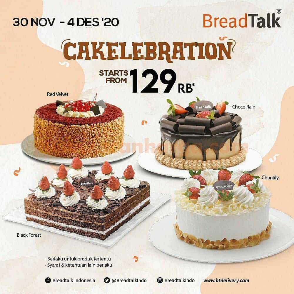 BreadTalk CAKElebration Promo Starts from Rp 129 Rb