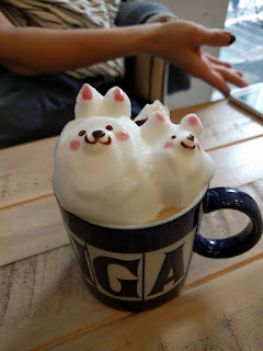 3D coffee in Tokyo