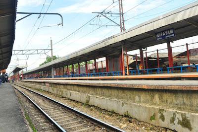 Alamat Stasiun Citayam