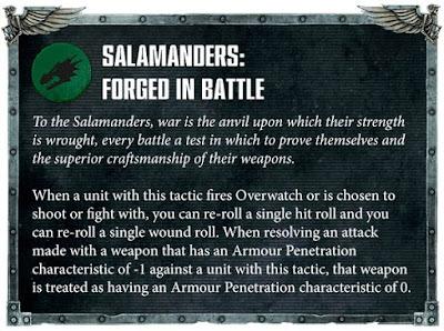 Táctica Capítulo Salamandras