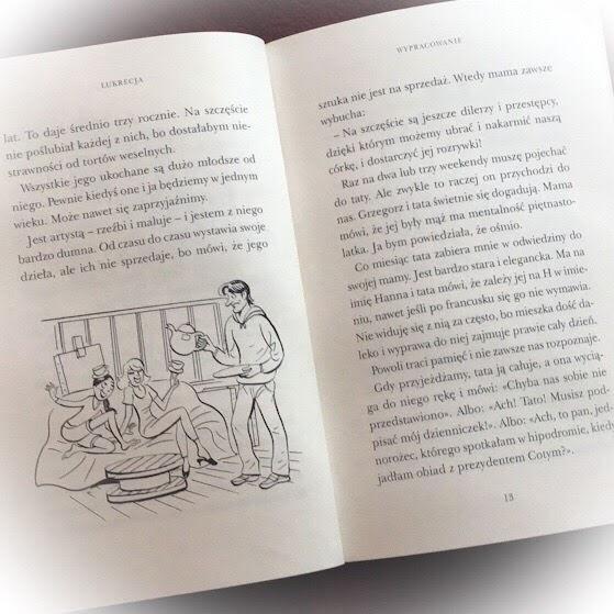 """Lukrecja"", Anne Goscinny, Catel, Znak Emotikon"