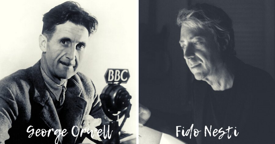 George Orwell e Fido Nesti