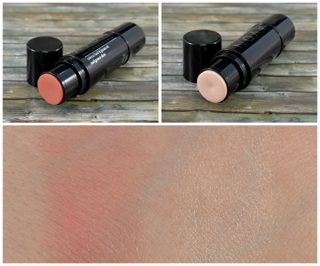 Avon creme blush and highlighter duo Swatches