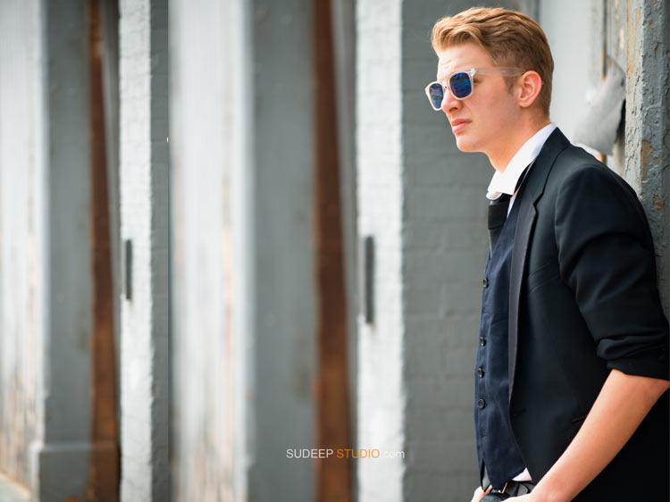 Stylish Senior Pictures for Guys - Toldedo Ohio - Sudeep Studio.com
