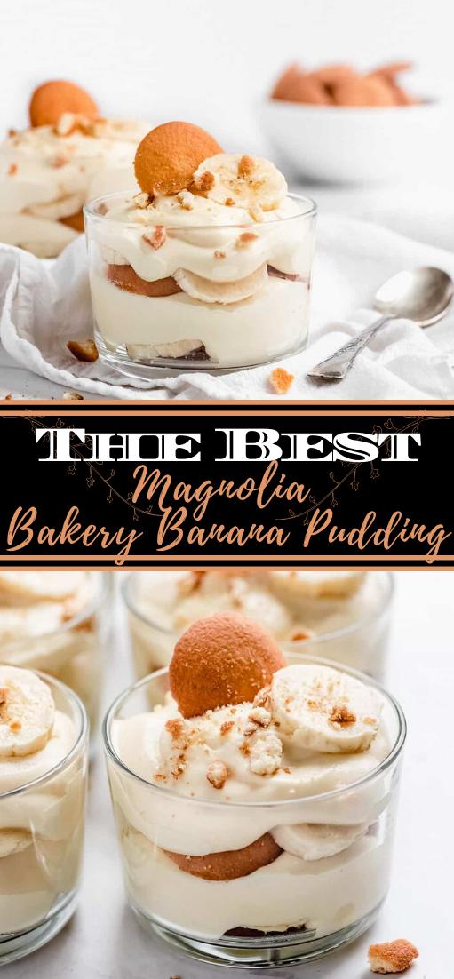 Magnolia Bakery Banana Pudding #desserts #cakerecipe #chocolate #fingerfood #easy