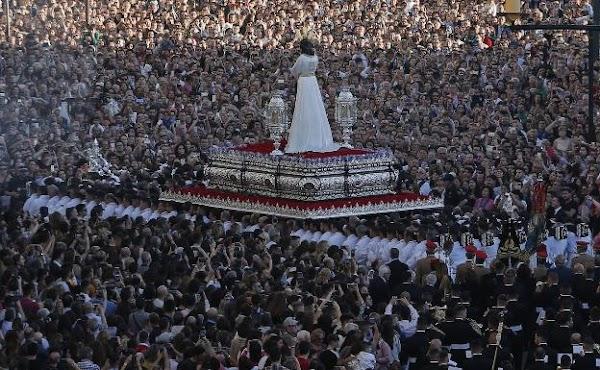 El distanciamiento social coarta la celebración de procesiones en Málaga