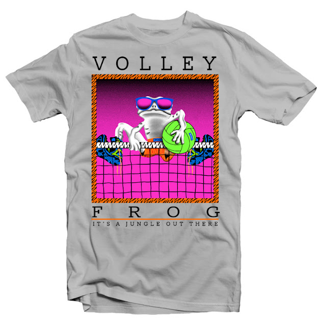 frog tshirt design