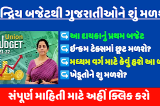 Budget 2021 Live   Union Budget 2021 for Gujarat