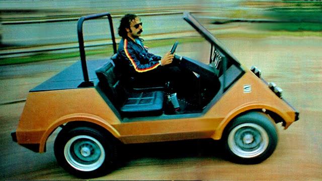 carro elétrico Itaipú – Gurgel – 1974