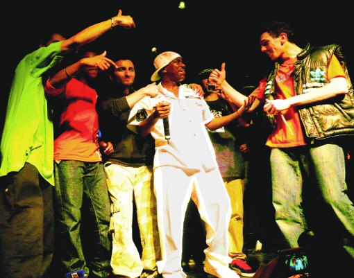 spéciale dédicace home boys Kurtis Blow scène on stage Élysée Montmartre concert live Paris