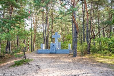 Pomnik Niepodległej Rzeczpospolitej Kampinoskiej 1944 r. w Wierszach
