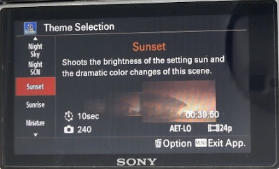 Theme Sunset Pada Pembuatan Video Timelapse Menggunakan Sony A6000