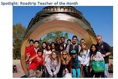 2010 Roadtrip Teacher of the Month