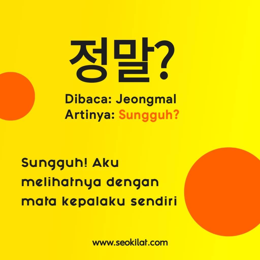 Kosa kata bahasa Korea