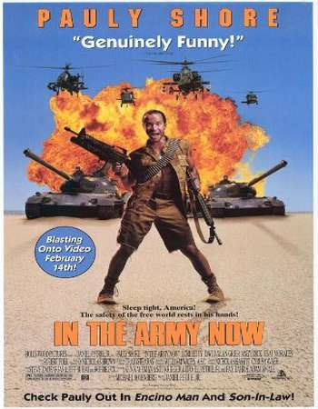Poster Of In the Army Now 1994 Dual Audio 120MB Web-DL HEVC Mobile ESubs Free Download Watch Online Worldfree4u