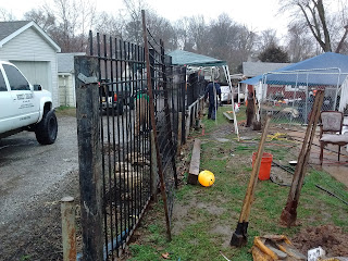 Welding Serveries Wrought Iron Safety Security Fence Project Scotts Contracting