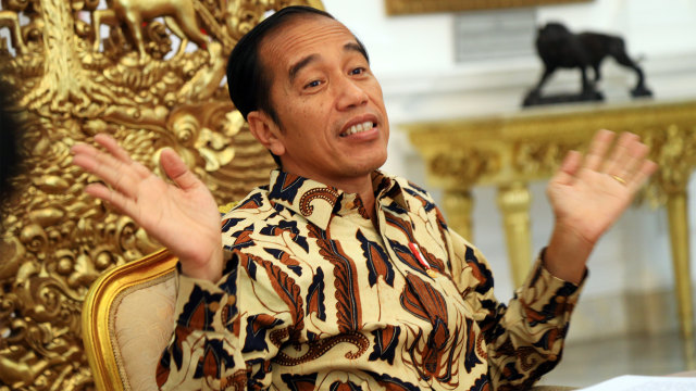 Jokowi: Terima Kasih Para Penegak Hukum