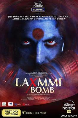 Laxmii 2020 [Hindi DD5.1] 720p WEBRip ESubs Download