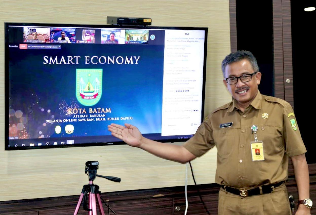 Dalam INSA 2020, Kota Batam Dinobatkan Sebagai Smart Economy dan  Platfrom Belajar Mengajar Terbaik.