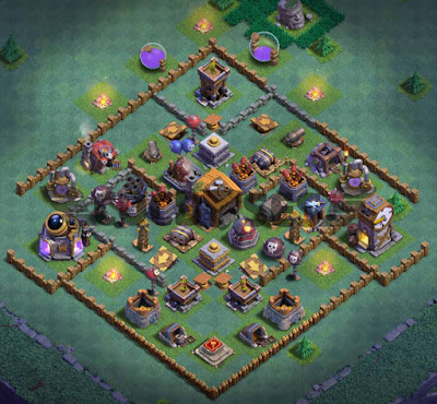 Base Builder Hall 7 Terkuat 2020