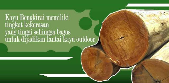 decking kayu solid bengkirai