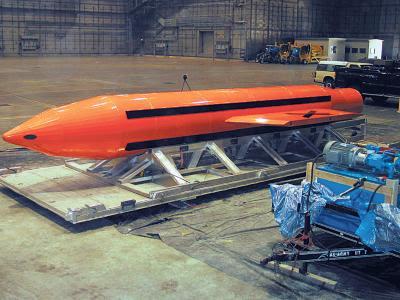 Trump hizo temblar al mundo con la mayor bomba no nuclear