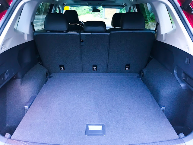 Cargo area in 2020 Volkswagen Tiguan 2.0T SEL with 4MOTION