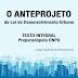 O Anteprojeto da Lei de Desenvolvimento Urbano - TEXTO INTEGRAL