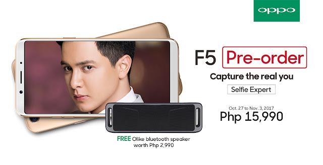 OPPO F5 Maj Valencia Makeup in Manila