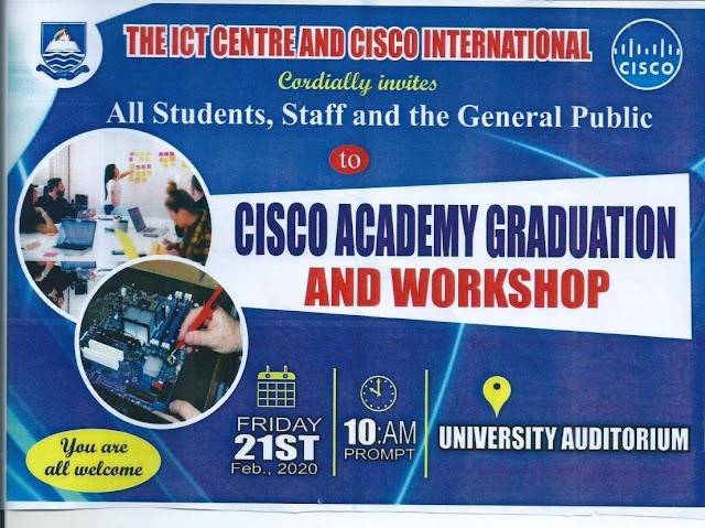 IAUE Cisco Academy Graduation & Workshop Programme 2019/2020