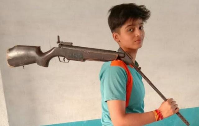 शूटिंग एकेडमी के लिए काजल सिंह का सिलेक्शन - newsonfloor.com