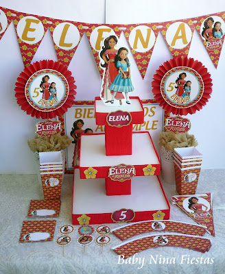 birthday kit Elena de Avalor