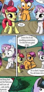 https://www.deviantart.com/sirzi/art/Talisman-for-a-pony-2-Page-28-819322911