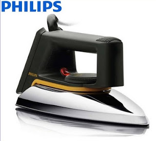 Setrika Philips Ceramic / Dry Iron HD 1172