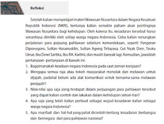 Tugas Refleksi diri Tentang Wawasan Nusantara dalam NKRI