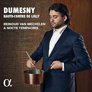 Dumesny, haute-contre de Lully - Reinoud Van Mechelen - CD Alpha 2019