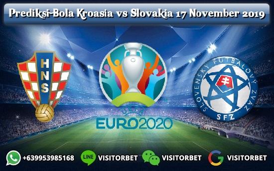 Prediksi Bola Kroasia vs Slovakia 17 November 2019