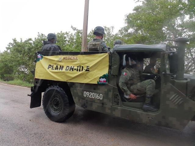Ejército aplica Plan DN-III-E en Valladolid, Tizimín, Panabá y Chemax por Gamma