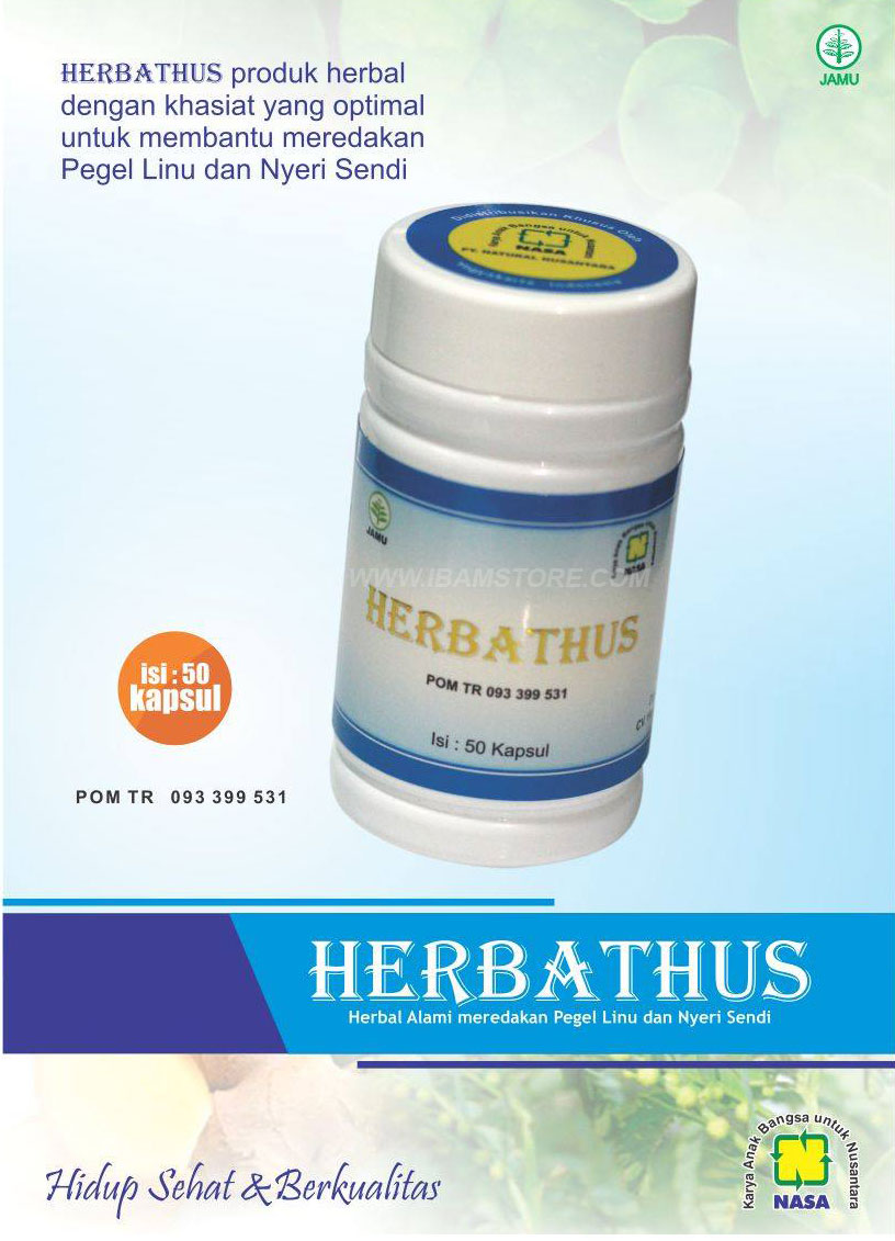 jual obat asam urat ampuh herbathus di sleman toko