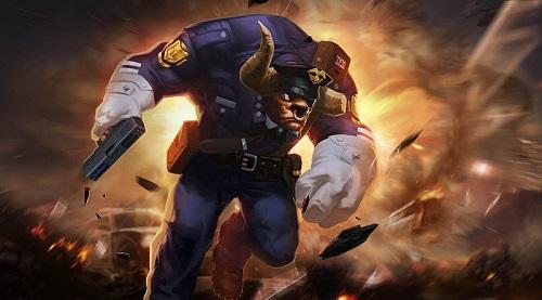 Toro rất trâu bò khi đã chiếm lĩnh Huân chương Troy