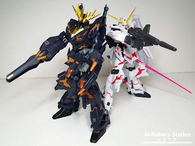 Review de GUNDAM UNIVERSE - Gundam Barbatos, Gundam Banshee, Gundam Deathscythe