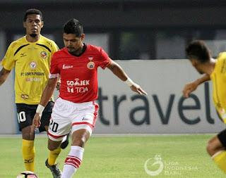 Persija Benamkan Semen Padang di Zona Degradasi Liga 1
